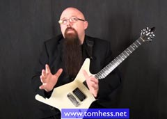 Tom Hess Shows You How To Play Guitar Cleanly