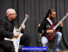 Tom Hess Demonstrates How To Play Creative Guitar Arpeggios
