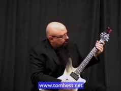 Tom Hess Playing An Exotic Guitar Lick