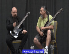 Tom Hess Explaining How To Play Guitar Fast And Clean