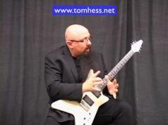 Tom Hess Playing Pinch Harmonics