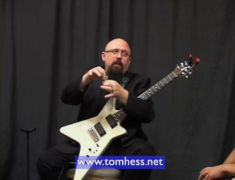 Tom Hess Demonstrating How To Play Metal Rhythm Guitar