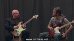 Tom Hess Teaching Vibrato To A Guitar Student