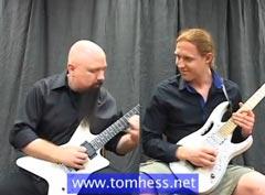 Tom Hess Teaching Guitar Licks To Student