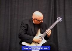 Tom Hess Playing Guitar