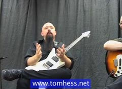 Tom Hess Teaching Shred Guitar