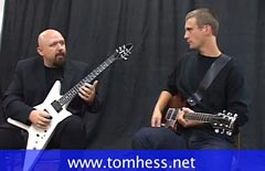 Tom Hess Teaches Sweep Picking Arpeggios