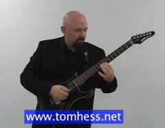 Tom Hess Playing A Guitar Solo
