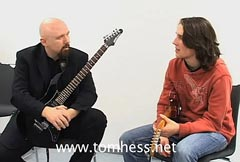 Tom Hess Teaching Guitar Speed