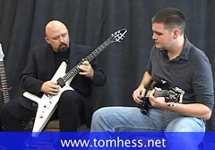 Tom Hess Teaching Guitar Phrasing