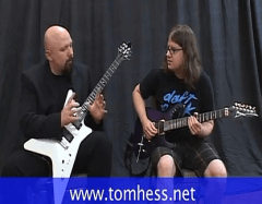 Tom Hess Talking About Guitar Playing