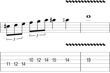 Lead Guitar Solo Lick