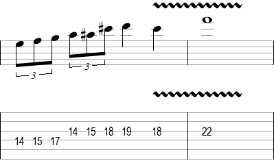 Lead Guitar Soloing Lick