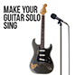 Make your guitar solos sing
