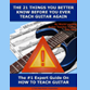 How To Teach Guitar The Right Way eCourse